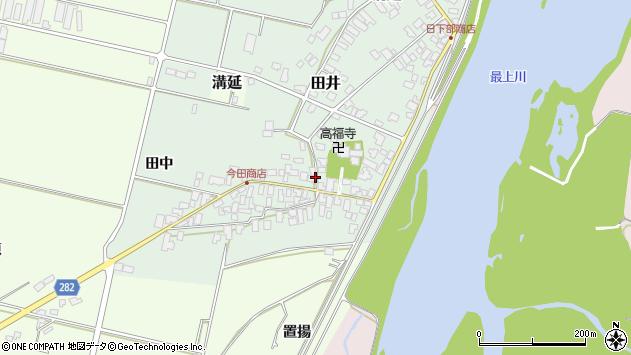 山形県西村山郡河北町田井26周辺の地図