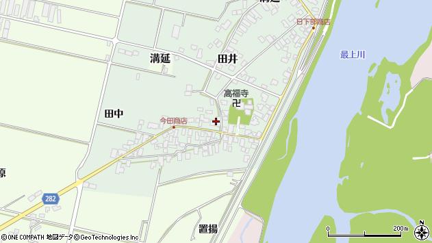 山形県西村山郡河北町田井25周辺の地図