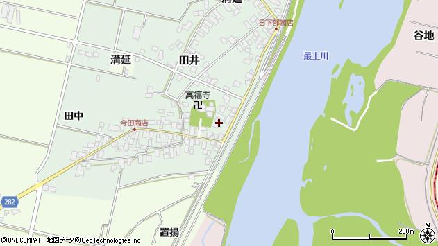 山形県西村山郡河北町田井51周辺の地図