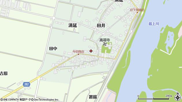 山形県西村山郡河北町田井23周辺の地図