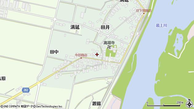 山形県西村山郡河北町田井24周辺の地図