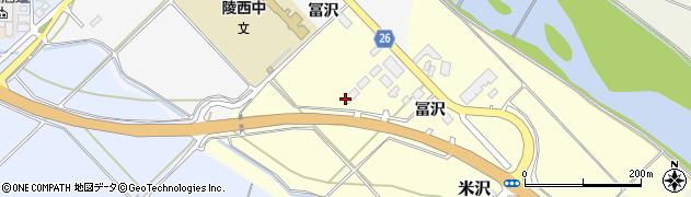 山形県寒河江市米沢冨沢788周辺の地図