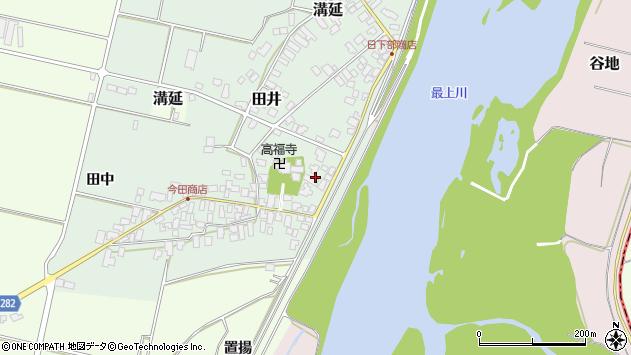山形県西村山郡河北町田井53周辺の地図
