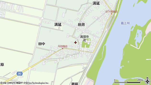 山形県西村山郡河北町田井29周辺の地図