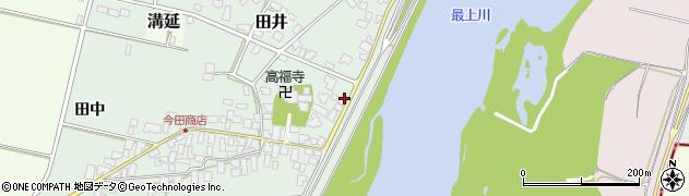 山形県西村山郡河北町田井57周辺の地図