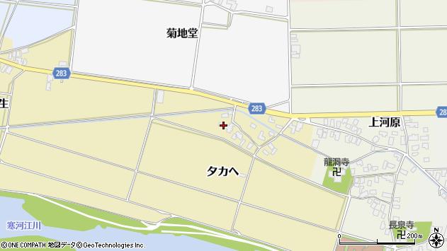山形県寒河江市夕カヘ27周辺の地図