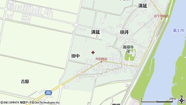 山形県西村山郡河北町田井十三区周辺の地図
