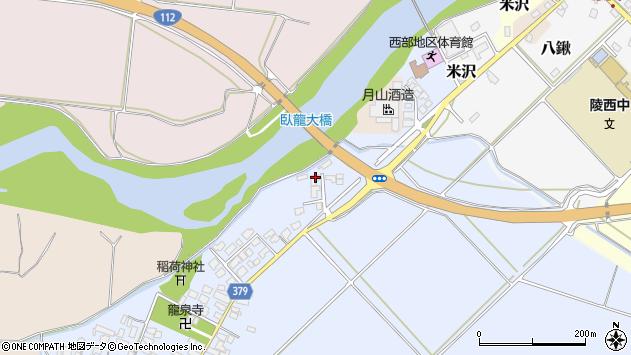 山形県寒河江市清助新田65周辺の地図