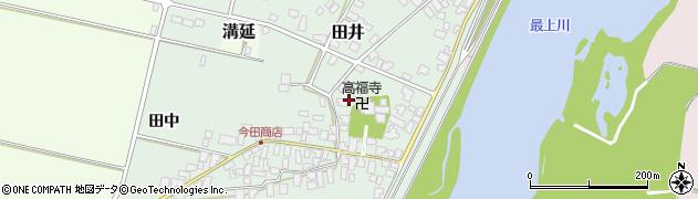 山形県西村山郡河北町田井36周辺の地図