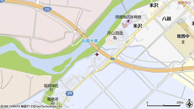 山形県寒河江市清助新田63周辺の地図