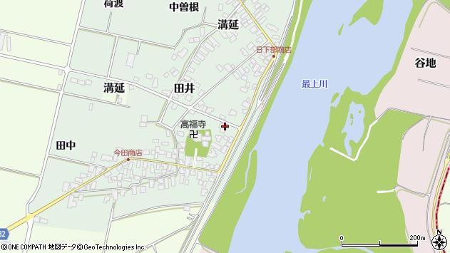 山形県西村山郡河北町田井60周辺の地図