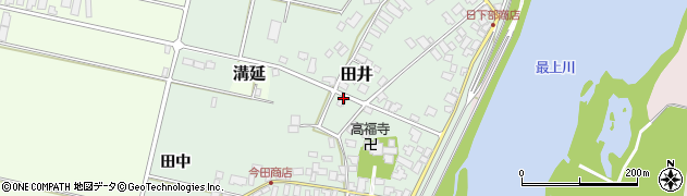 山形県西村山郡河北町田井160周辺の地図