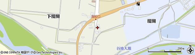 山形県寒河江市慈恩寺186周辺の地図