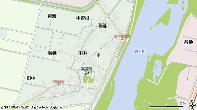 山形県西村山郡河北町田井十五区周辺の地図