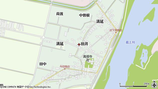 山形県西村山郡河北町田井199周辺の地図