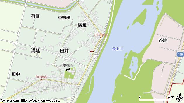 山形県西村山郡河北町田井68周辺の地図