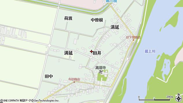 山形県西村山郡河北町田井197周辺の地図