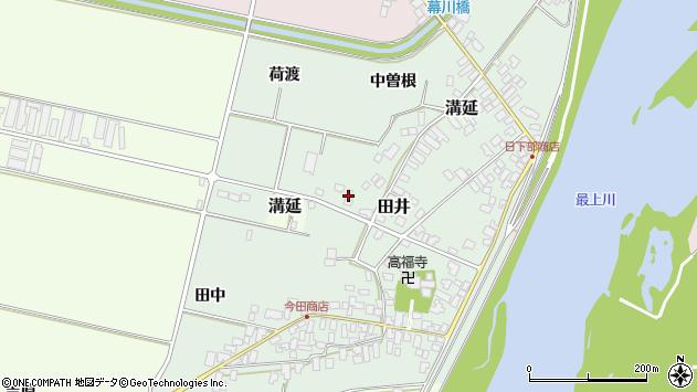 山形県西村山郡河北町田井中曽根201周辺の地図