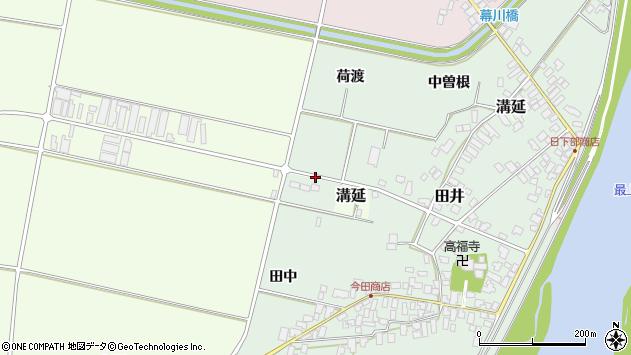 山形県西村山郡河北町田井150周辺の地図