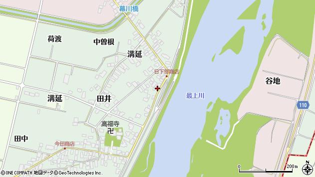 山形県西村山郡河北町田井70周辺の地図