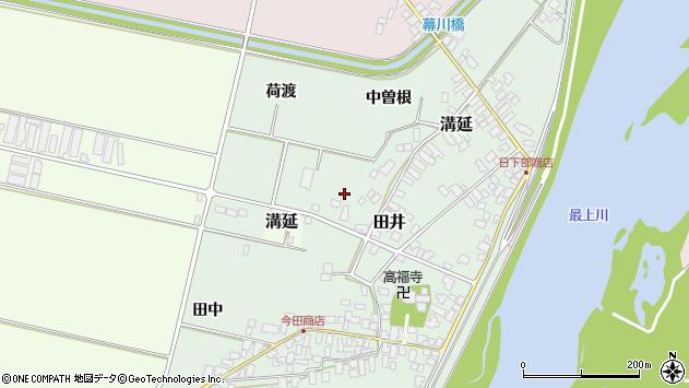 山形県西村山郡河北町田井十六区周辺の地図