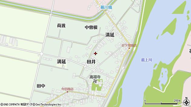 山形県西村山郡河北町田井中曽根187周辺の地図