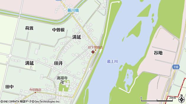 山形県西村山郡河北町田井73周辺の地図