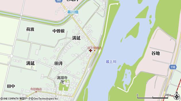 山形県西村山郡河北町田井72周辺の地図