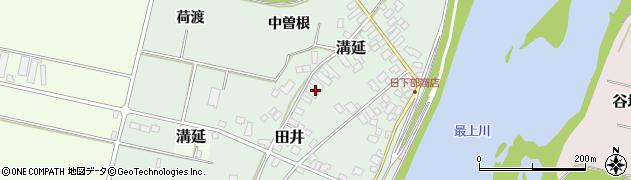 山形県西村山郡河北町田井中曽根189周辺の地図