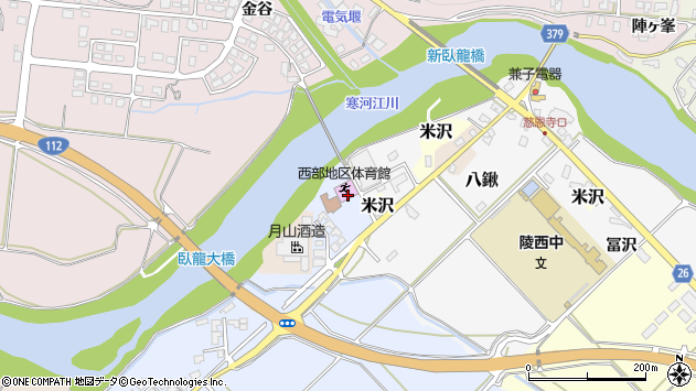 山形県寒河江市清助新田930周辺の地図