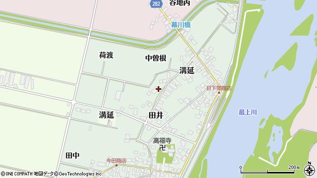 山形県西村山郡河北町田井133周辺の地図