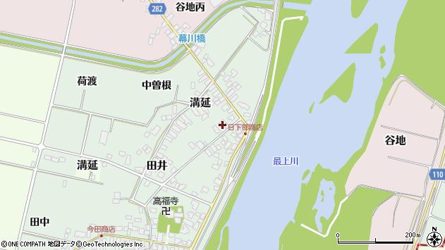 山形県西村山郡河北町田井中曽根213周辺の地図