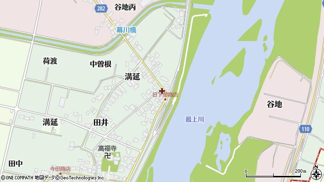 山形県西村山郡河北町田井75周辺の地図