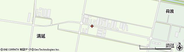 山形県西村山郡河北町溝延吉原107周辺の地図