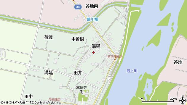 山形県西村山郡河北町田井208周辺の地図
