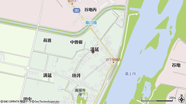 山形県西村山郡河北町田井127周辺の地図