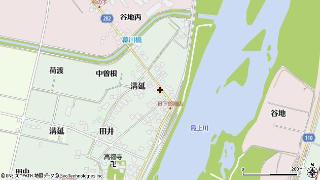 山形県西村山郡河北町田井84周辺の地図