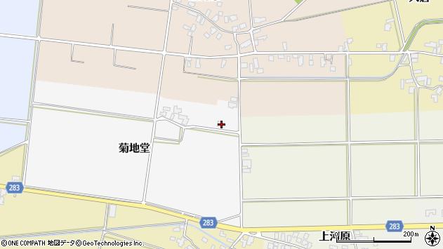 山形県寒河江市菊地堂89周辺の地図