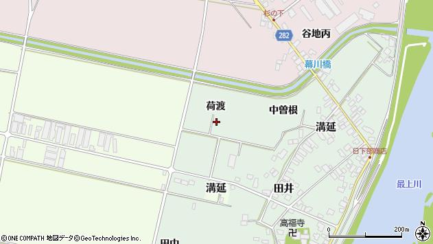 山形県西村山郡河北町田井荷渡17周辺の地図