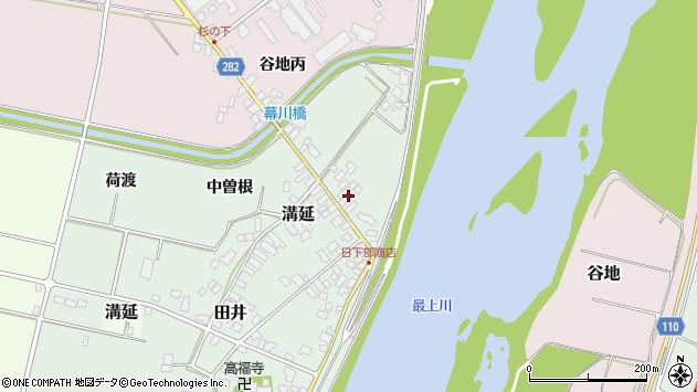 山形県西村山郡河北町田井90周辺の地図