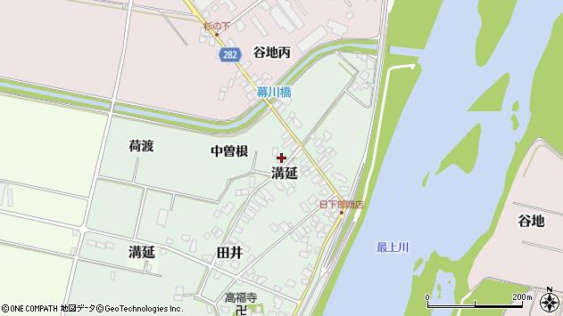 山形県西村山郡河北町田井中曽根217周辺の地図
