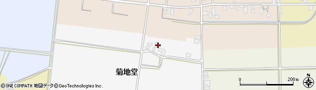 山形県寒河江市菊地堂92周辺の地図