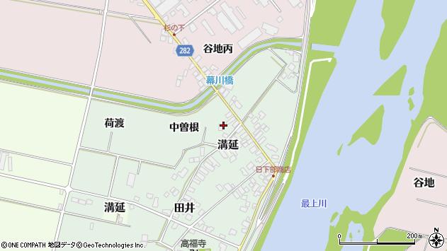 山形県西村山郡河北町田井中曽根218周辺の地図