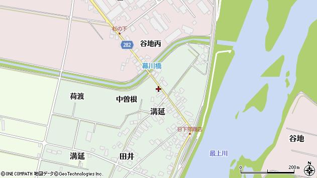 山形県西村山郡河北町田井下宿122周辺の地図