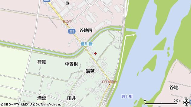 山形県西村山郡河北町田井120周辺の地図