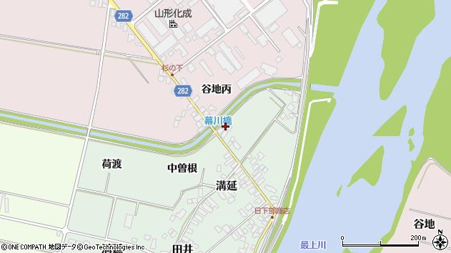 山形県西村山郡河北町田井228周辺の地図