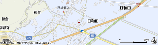山形県寒河江市日和田513周辺の地図