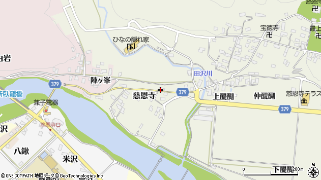 山形県寒河江市慈恩寺669周辺の地図