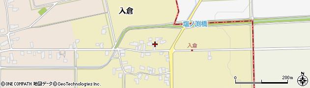山形県寒河江市入倉114周辺の地図