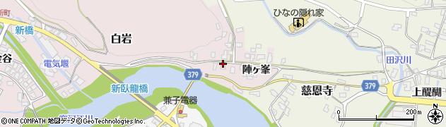山形県寒河江市白岩2439周辺の地図
